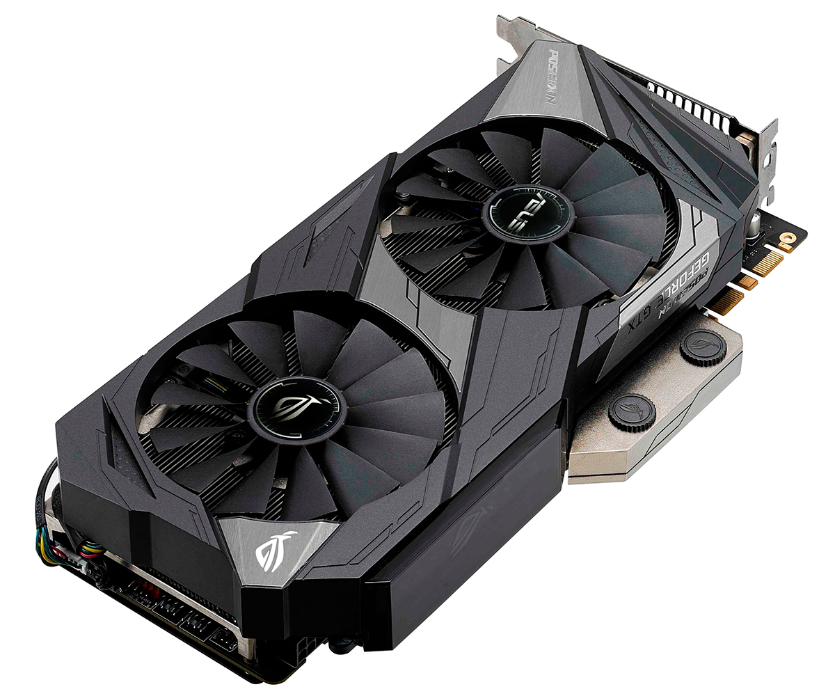 ROG Poseidon GeForce® GTX 1080 Ti Platinum edition 11GB GDDR5X Graphics Card