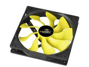 Image of Akaska High Performance Viper 140mm Yellow Fan