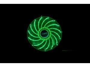Image of 12cm Vegas 15 Green LED fan