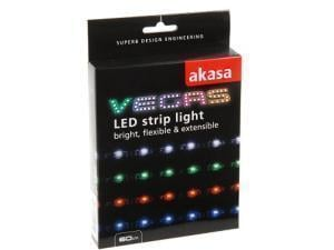 Image of Akasa Blue LED Light Strip - 60cm - 15 LEDs - 4 Pin Molex Connector