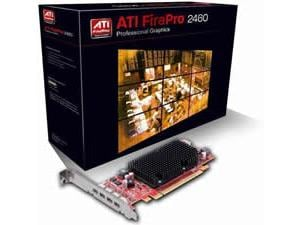 AMD FirePro 2460 for Quad DVI / DisplayPort 512MB GDDR3