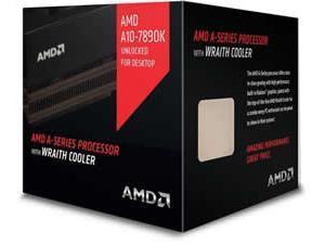 AMD A107890K Black Edition APU with Wraith Cooler 4.11Hz (Socket FM2) APU Godavari Processor  Retail