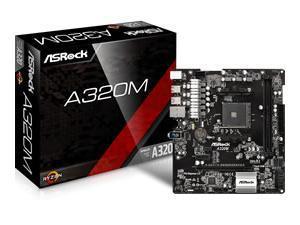 Image of Asrock A320M AMD AM4 Micro-ATX Motherboard