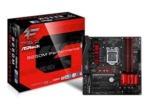 Asrock B250M PERFORMANCE Intel B250 1151 Micro ATX DDR4 XFire VGA DVI HDMI RGB Illumination