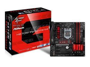 H270M PerformanceAsrock H270M PERFORMANCE Intel H270 1151 Micro ATX DDR4 XFire VGA DVI HDMI RGB Illumination