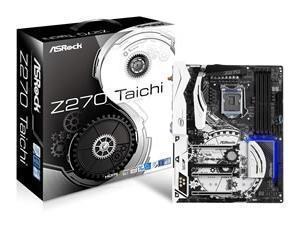 Asrock Z270 TAICHI Intel Z270 1151 ATX DDR4 XFireSLI HDMI DP Dual GB LAN  RGB Illumination
