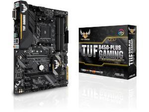 Image of Asus TUF B450-Plus Gaming AMD AM4 B450 Chipset ATX Motherboard - Ryzen 3 Ready
