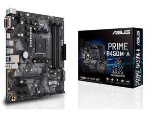 Image of Asus Prime B450M-A AMD AM4 B450 Chipset Micro-ATX Motherboard - Ryzen 3 Ready