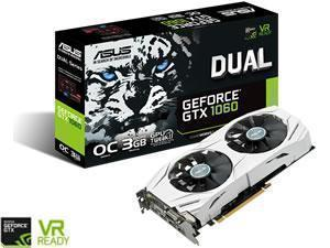 ASUS GeForce GTX 1060 DUAL OC 3GB GDDR5