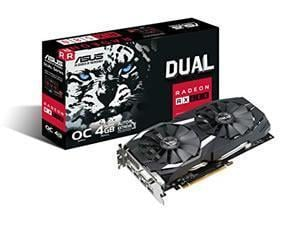 Image of ASUS Dual series Radeon RX 580 OC edition 4GB GDDR5