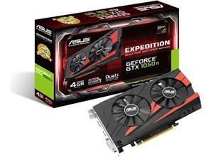 ASUS GeForce GTX 1050 Ti Expedition 4GB GDDR5 Graphics Card