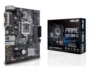 Image of Asus PRIME H310M-D LGA 1151 H310 Micro-ATX Motherboard