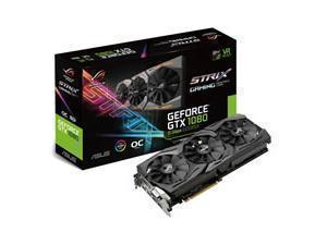 Asus ROGSTRIXGTX1080O8G11GBPS GTX 1080 Graphics Card with Aura RGB Sync