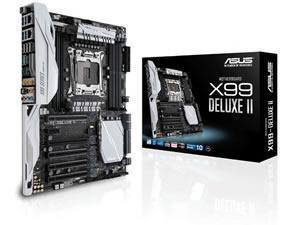 ASUS X99DELUXE II Intel X99 (Socket 20113) Motherboard