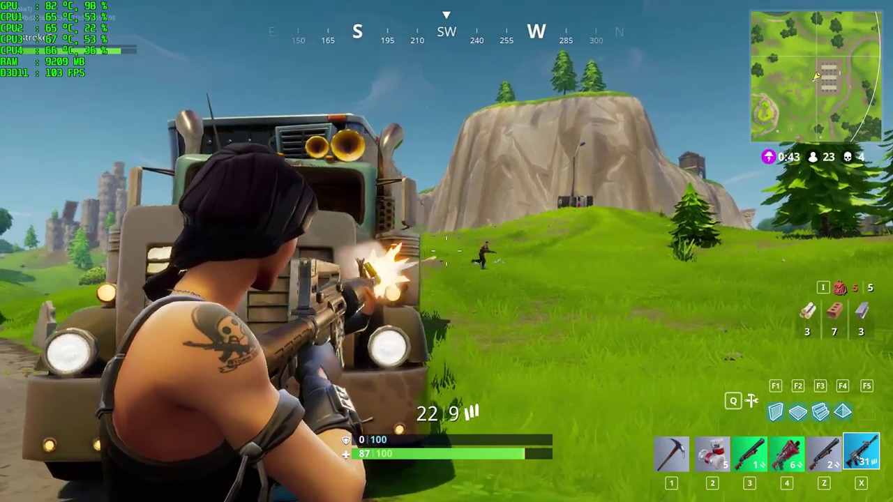 Fortnite: Battle Royale gameplay