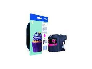 Image of Brother LC123M Magenta Ink Cartridge
