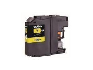 Image of Brother LC123Y Yellow Ink Cartridge
