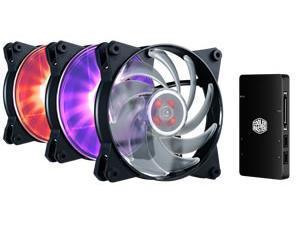 Image of Cooler Master MasterFan Pro 120 AB RGB Fan Starter Kit