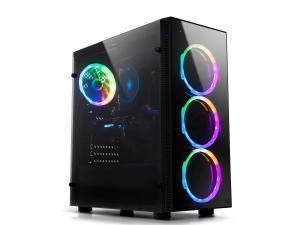 Image of Novatech Core 139 - AMD Ryzen 3 2300X Processor - 8GB DDR4 2400Mhz Memory - 1TB HDD SATA - RX 570 4GB - Windows 10 Home High End Devices
