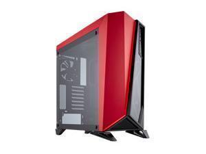 Image of Corsair Spec Omega Red Tempered Glass Midi PC Gaming Case