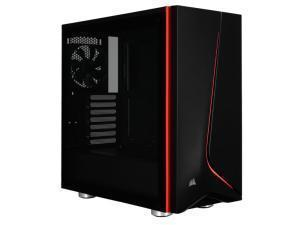 Image of Corsair Carbide Series SPEC-06 Glass Red LED Midi PC Gaming Case