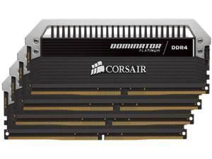 Corsair Dominator Platinum 32GB (4x8GB) DDR4 PC4-19200 2400MHz Quad Channel Kit