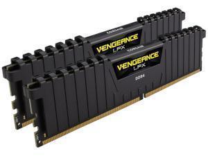 Image of Corsair Vengeance LPX Black 16GB (2x 8GB) 2666MHz DDR4 Dual Channel Memory (RAM) Kit