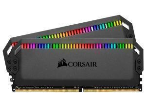 Image of Corsair Dominator Platinum RGB 32GB (2x16GB) 3200MHz Dual Channel Memory (RAM) Kit