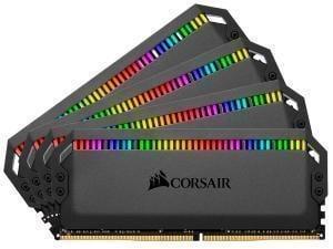 Image of Corsair Dominator Platinum RGB 32GB (4x8GB) 3200MHz Quad Channel Memory (RAM) Kit