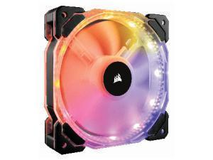 Image of Corsair HD120 RGB LED High Performance 120mm PWM Fan with Controller