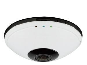 Image of DCS-6010L Wireless 11n & RJ45 360° Fisheye Home Network IP Camera