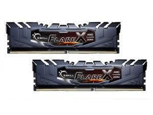 G.Skill Flare X 2400MHz 32GB (2 x 16GB Kit) DDR4 Memory - Black