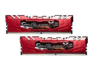 G.Skill Flare X 2400MHz 32GB (2 x 16GB Kit) DDR4 Memory - Red