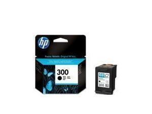 Image of Hewlett Packard (HP) No. 300 Black Ink Jet Cartridge