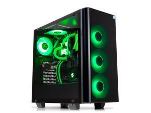 Image of Novatech Hydro Raptor - Intel Core i7 9700K - 16GB Corsair RGB Pro 3200Mhz Memory - Samsung 970 Evo 250GB NVME M.2 - Seagate Barracuda 3TB - RTX 2080 - Win 10 Home