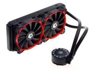 Image of Frostflow 240L AIO CPU Cooler - Red AMD/Intel