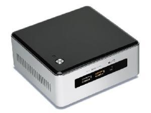 Image of Intel Next Unit of Computing Kit NUC5I7RYH - Barebone - mini PC - 1 x Core i7 5557U / 3.1 GHz - Iris Graphics 6100 - GigE, Bluetooth 4.0 LE - WLAN : 802.11a/b/g/n/ac