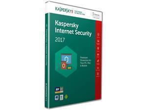 Kaspersky 2017 Internet Security 10 Devices 1 Year