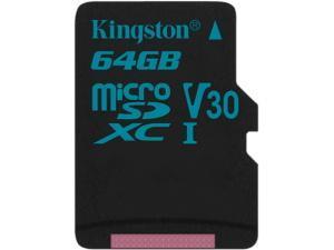 Image of Kingston Canvas Go! 64GB MicroSD Card