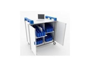 Image of LapCabby Mini 32V 32 Port Mini Laptop Trolley Vertical