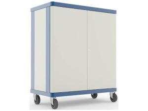 Image of Lapsafe ClassBuddy Mobile Storage & Charging Trolley For Up To 30 Laptops - With Radio Access Point