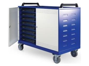 Image of Lapsafe UnoCart Mobile Storage & Charging Trolley For Up To 16 Laptops With Data Transfer & Radio Access Point