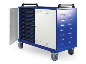 Image of Lapsafe UnoCart Mobile Storage & Charging Trolley For Up To 16 Laptops With Data Transfer, Radio Access Point & Top Mounted Sockets