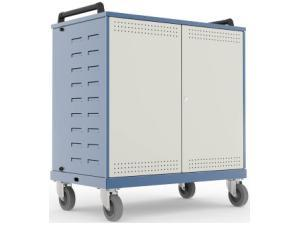 lapsafe-unocart-mobile-storage-charging-trolley-for-up-to-30-netbooks-with-data-transfer-radio-access-point-top-mounted-sockets