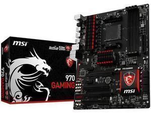 MSI 970 Gaming AMD 970 (Socket AM3+) ATX Motherboard