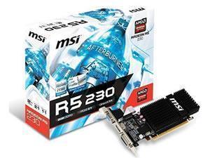 MSI Radeon R5 230 Silent / Low Profile 2GB GDDR3