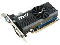 MSI Radeon R7 240 Low Profile 2GB GDDR3