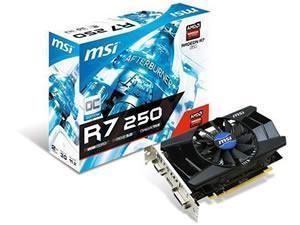 MSI Radeon R7 250 OC 2GB GDDR3