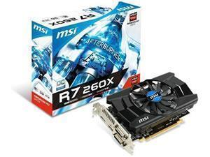 MSI Radeon R7 260X OC 2GB GDDR5