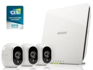 Image of Netgear VMS3330-100EUS Arlo Wireless Night Vision 3x HD Security Camera System